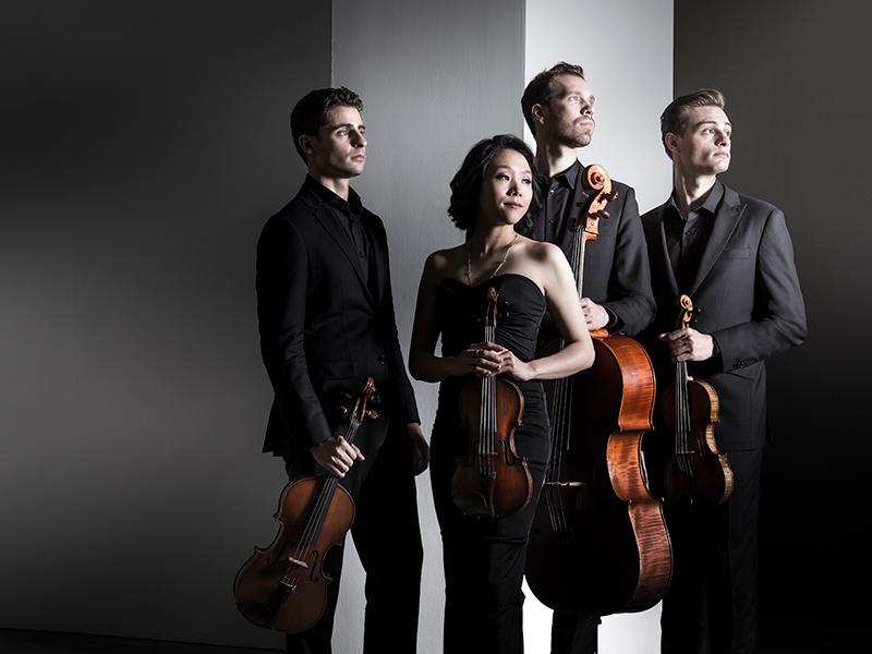 Tesla Quartet photo by Dario Acosta