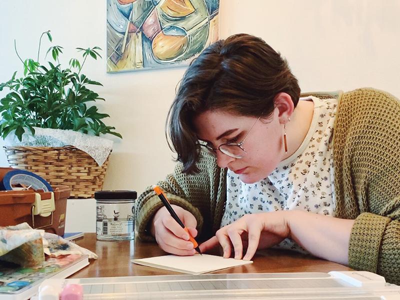 artist Hannah Hagler
